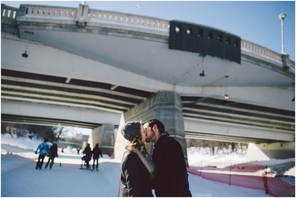 Winter in Winnipeg Engaged