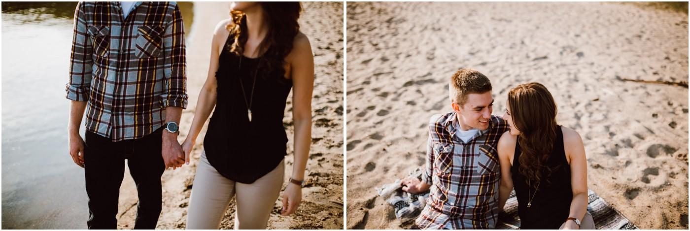 Whiteshell Engagement Photos