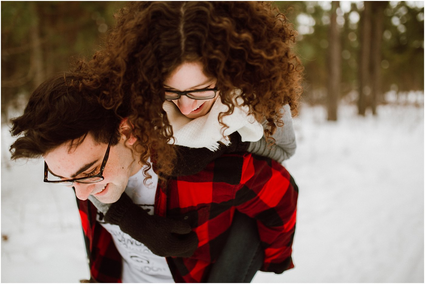 Winter Woodland Engagement