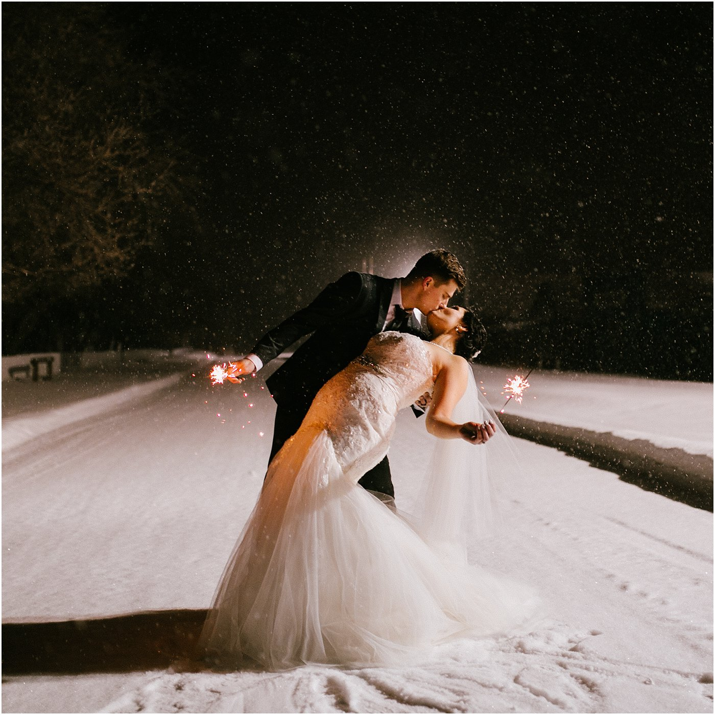 Dez And Ryan's Winter Wedding Previews