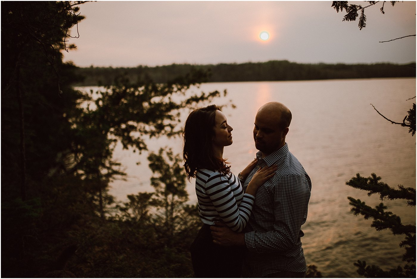 Engagement Session at West Hawk Lake