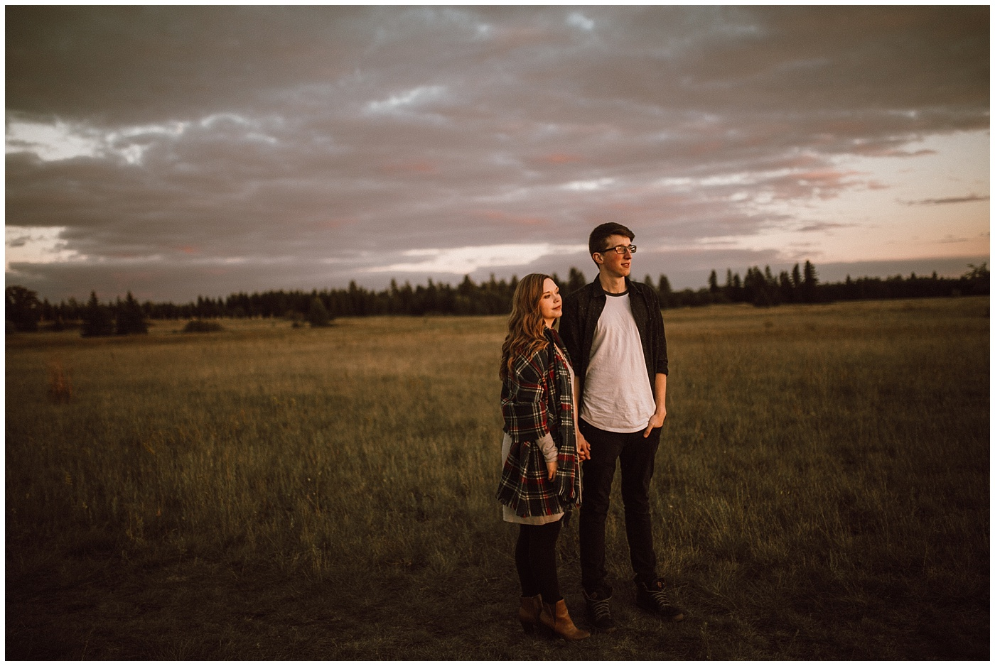 Bird's Hill Sunset Engagement Photos