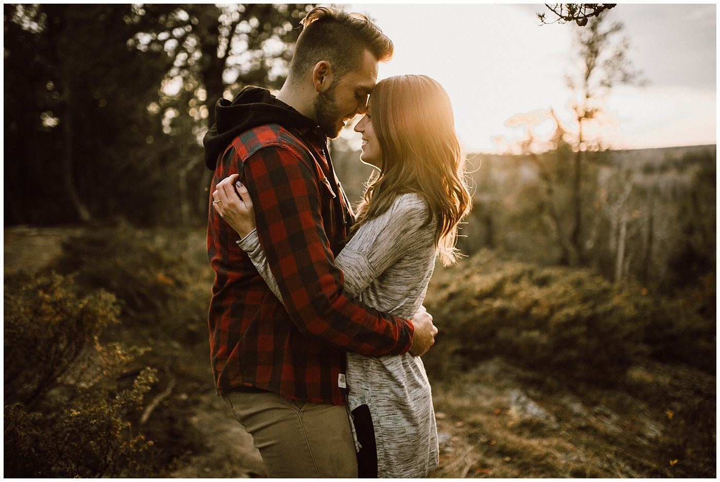 Whiteshell Hiking Engagement Session