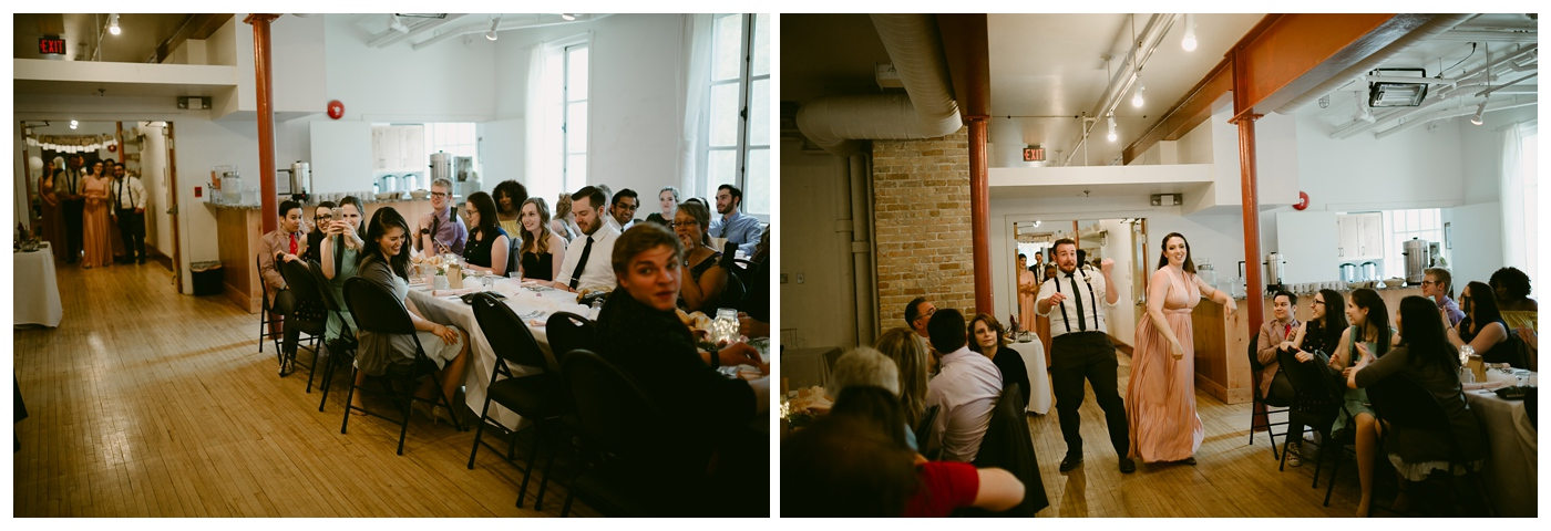 Wedding at St. Norbert's Art Centre