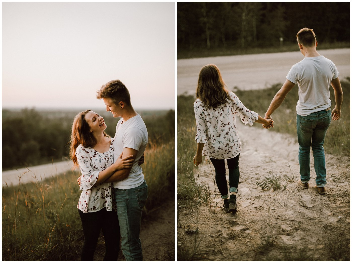 Manitoba Hiking Engagement Session