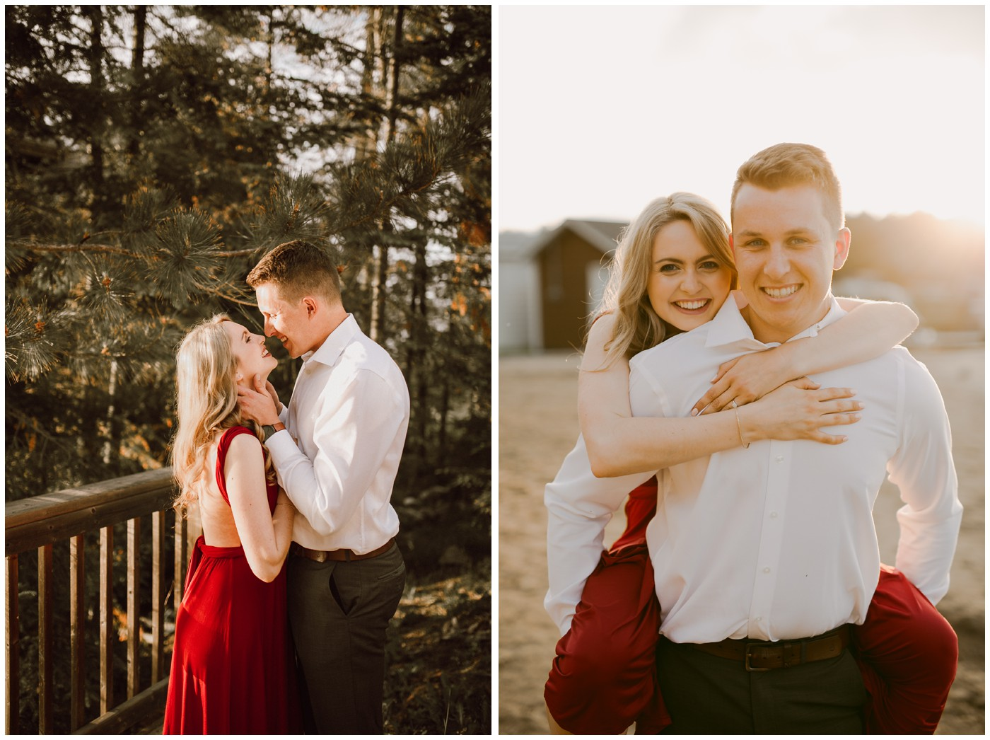 Falcon Lake Engagement Session