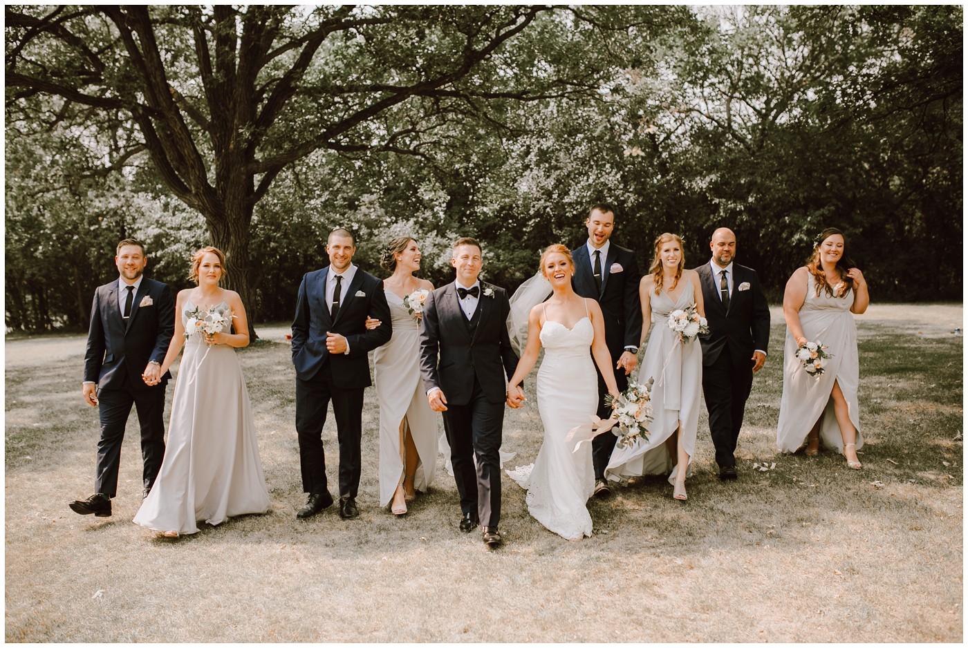 Qualico Center Leo Mol Garden Wedding