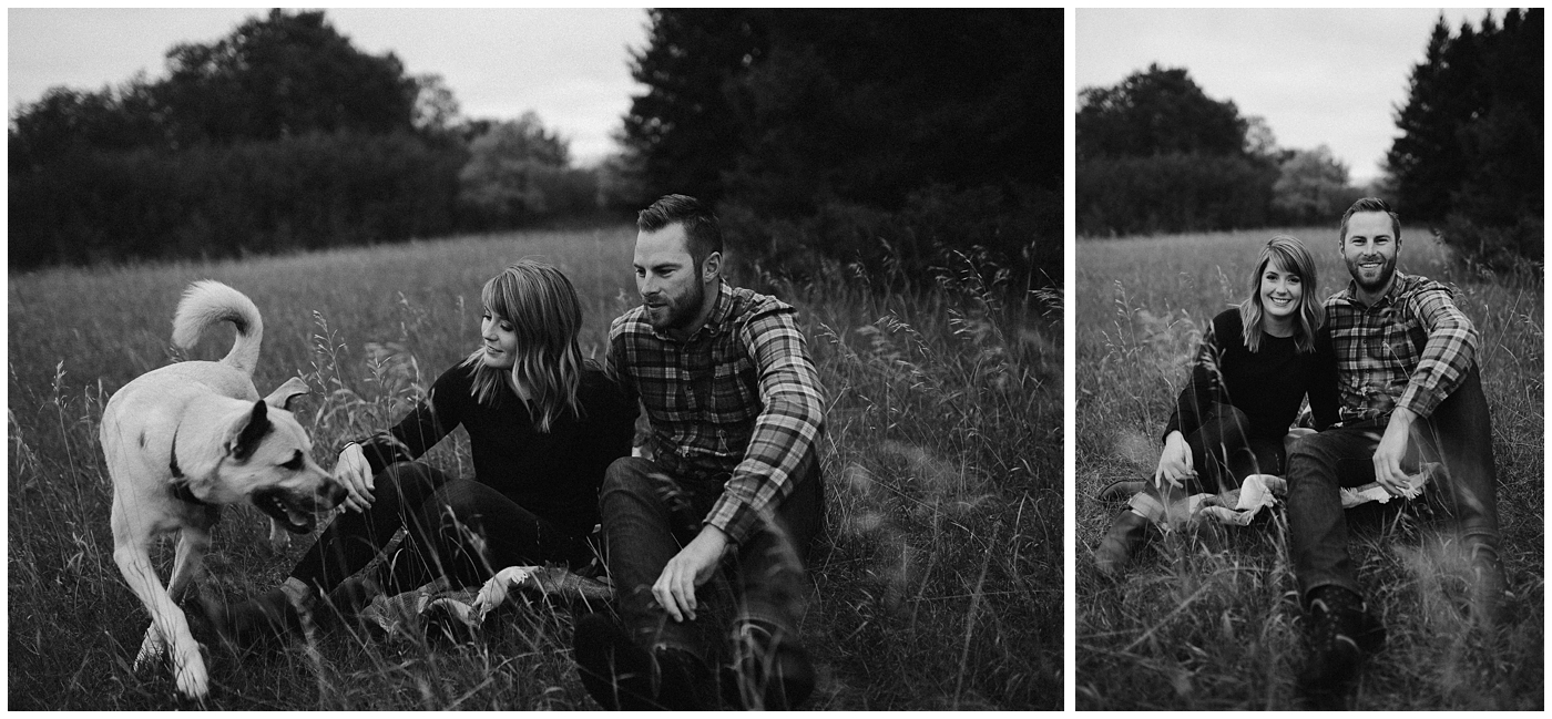 Birds Hill Engagement with Amanda and Evan