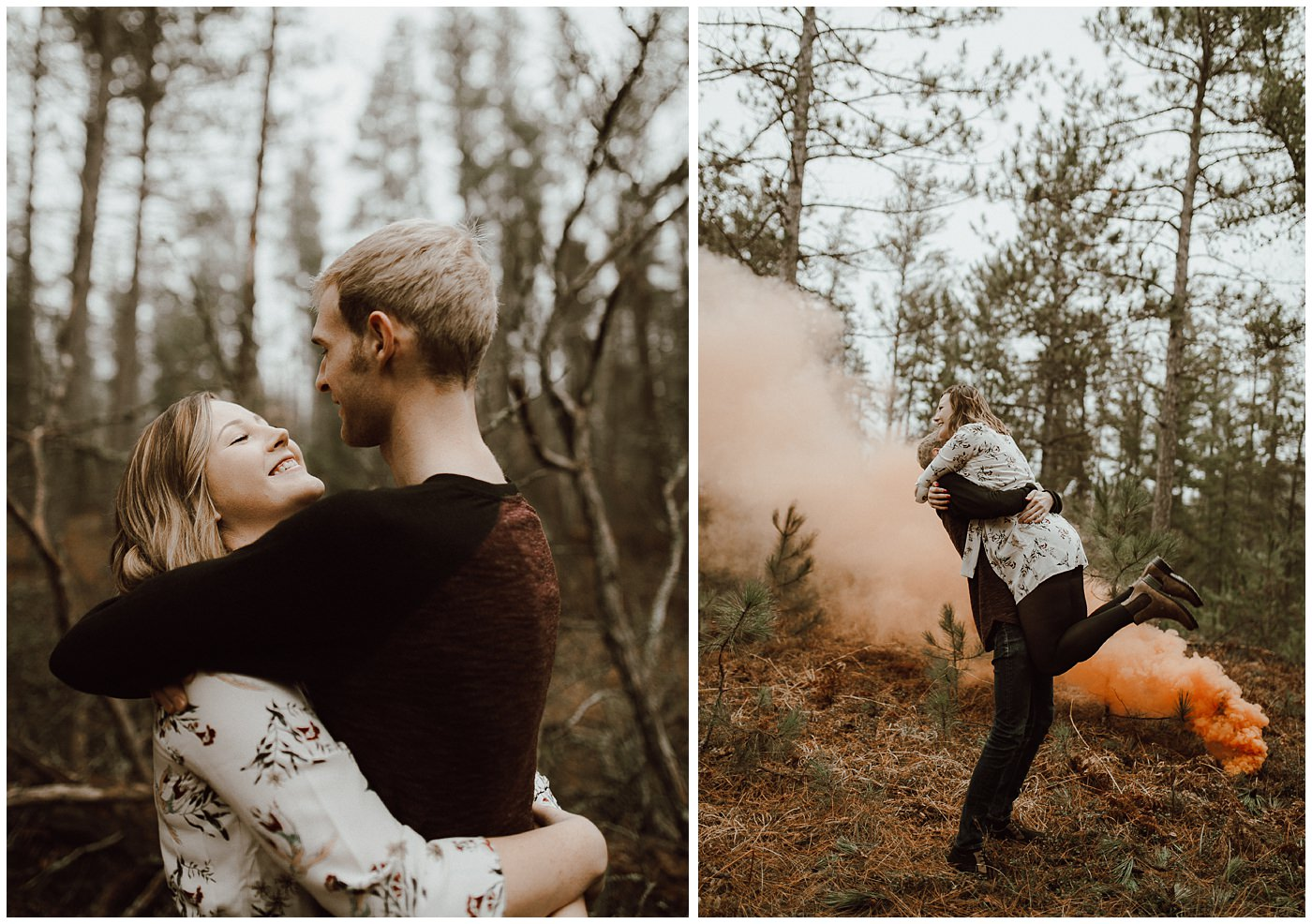 Smoke Bomb Engagement Session1879