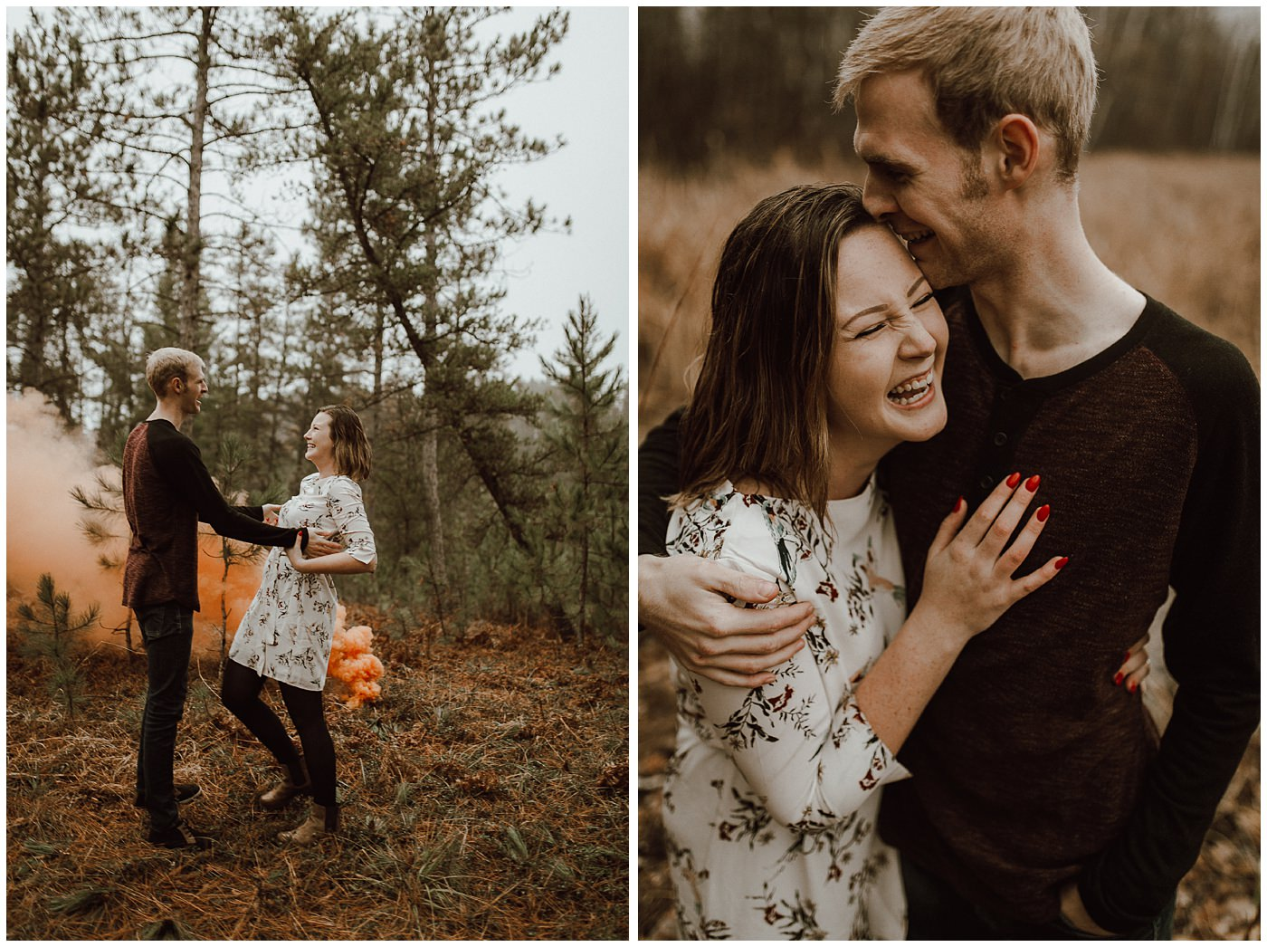 Smoke Bomb Engagement Session1884