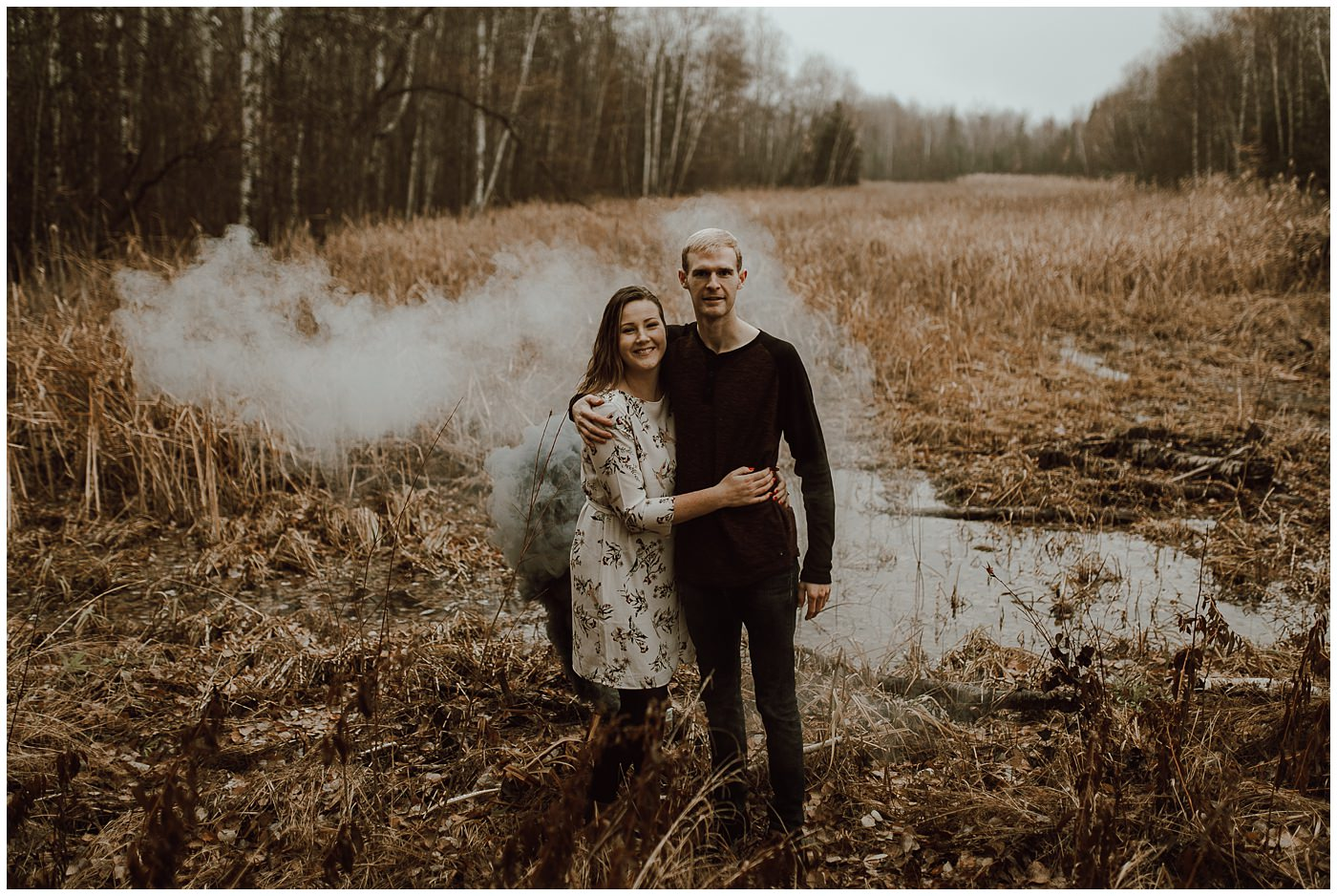 Smoke Bomb Engagement Session1888