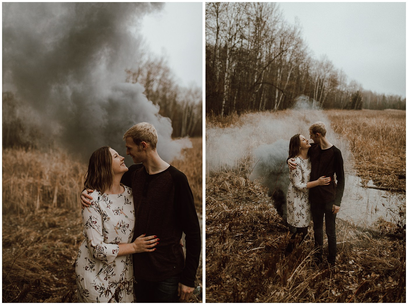 Smoke Bomb Engagement Session1889