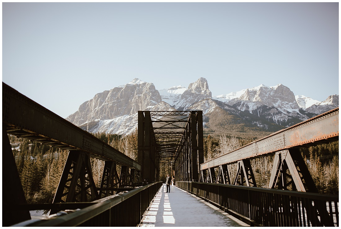 Canmore Bridge Wedding
