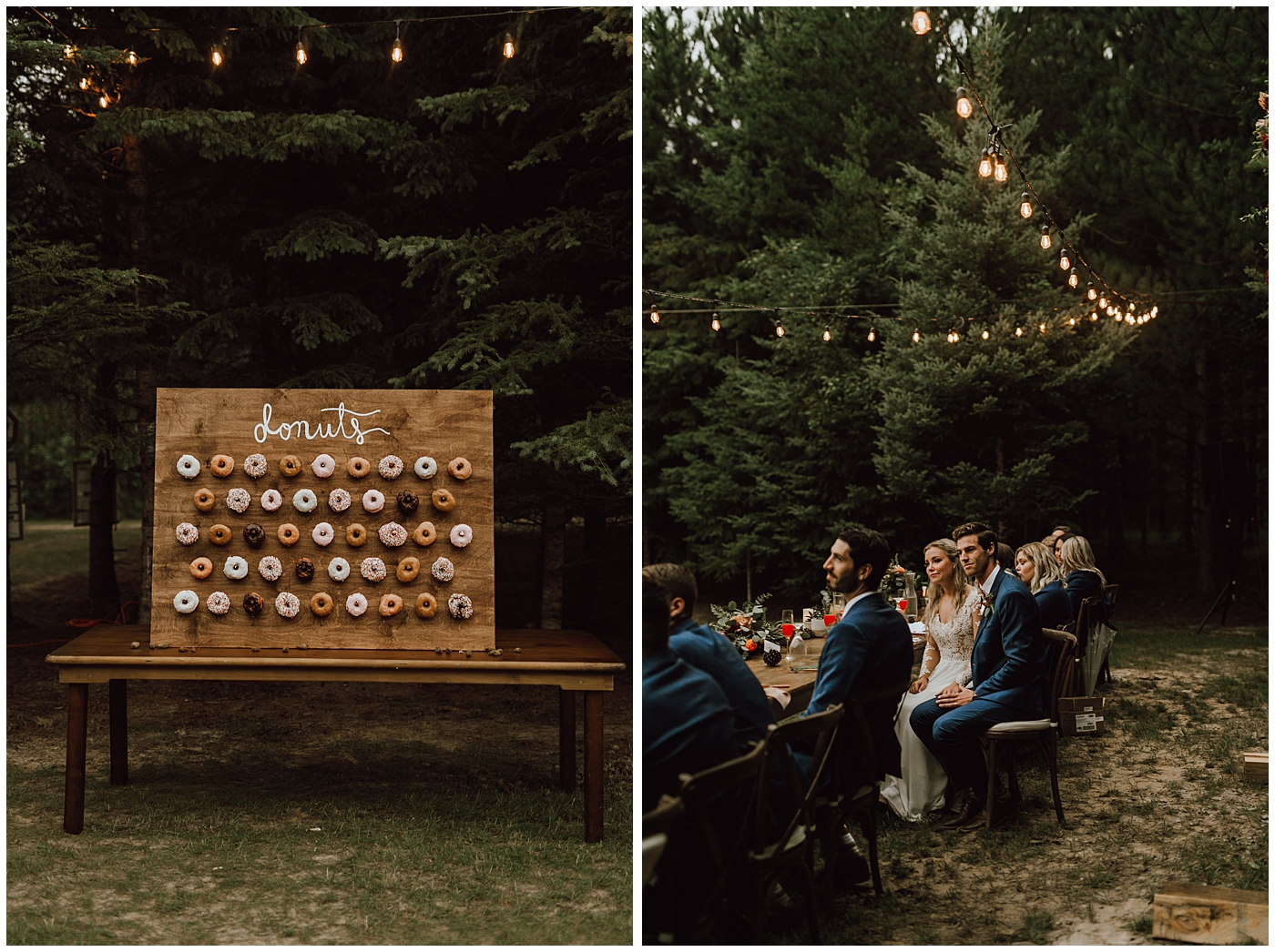 Winnipeg Outdoor Wedding in the Rain