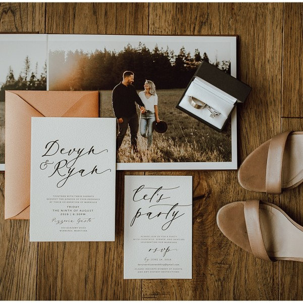 Intimate in Home Wedding in Winnipeg