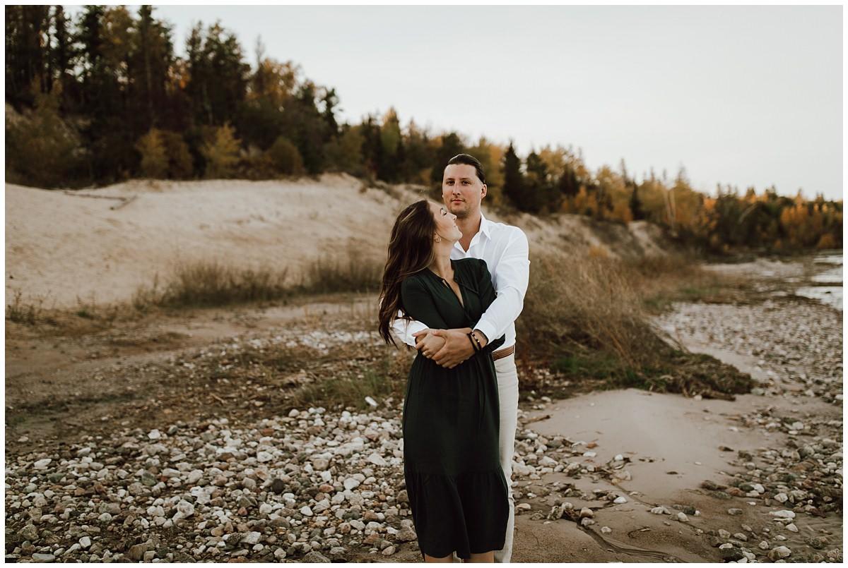 Lake Winnipeg Engagement Session